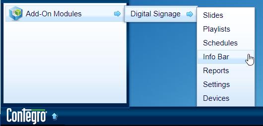 ContegroStart_DigitalSignage_InformationBars